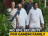 Video: No SPG Security For Gandhi Family, Devendra Fadnavis Resigns And Other Top Stories
