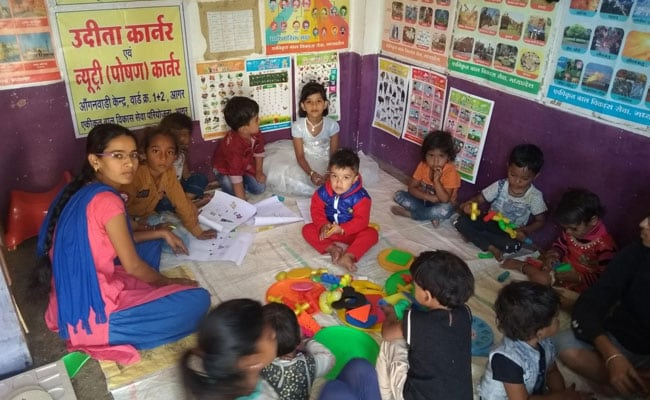 Madhya Pradesh's Children's Day Budget For Anganwadi Centres - Rs 100