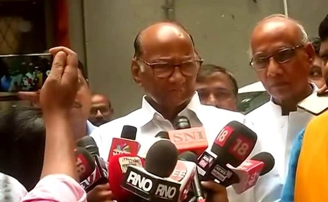 'Don't Know Why Governor Not Calling Single Largest Party': Sharad Pawar