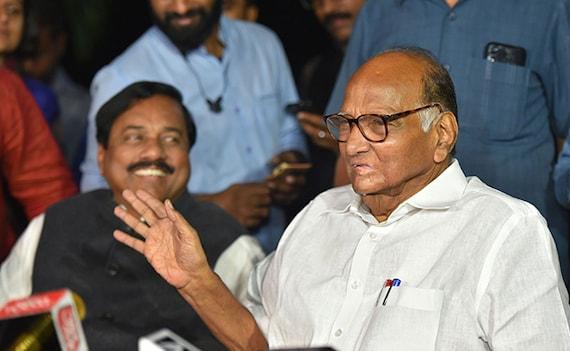 More Talks Needed On Maharashtra: Sharad Pawar After Meeting Sonia Gandhi