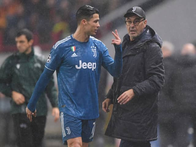 Champions League: Cristiano Ronaldos Furious Reaction After Being Substituted Explained By Maurizio Sarri