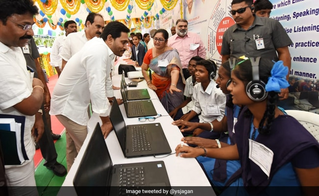 Children's Day 2019: Andhra CM Launches Program Aims At Transforming Government Schools