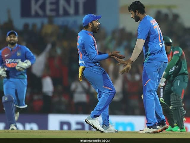 India vs Bangladesh 3rd T20I: India Beat Bangladesh By 30 Runs In Series Decider