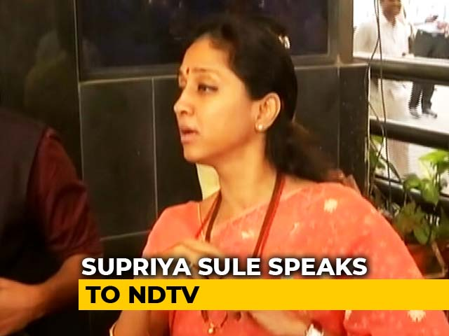 Video : It's A Happy Day: Supriya Sule To NDTV