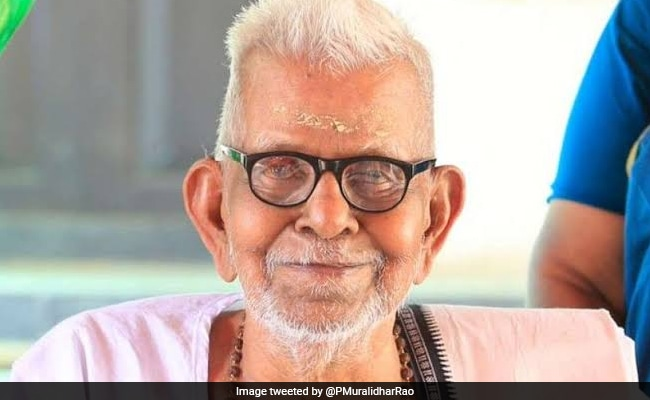 Akkitham Achuthan Namboothiri, 93-Year-Old Poet From Kerala, Wins Jnanpith Award