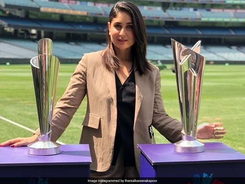 Kareena Kapoor Unveils 2020 ICC T20 World Cup Trophies In Melbourne