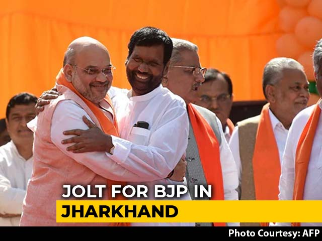 Video : After Maharashtra Disappointment, A Jolt For BJP In Poll-Bound Jharkhand