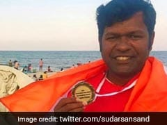Odisha Artist Sudarsan Pattnaik Picked For Italian Golden Sand Art Award