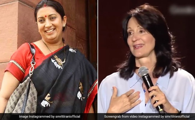 Smriti Irani's Post Explains Why You Shouldn't Judge A Book By Its Cover