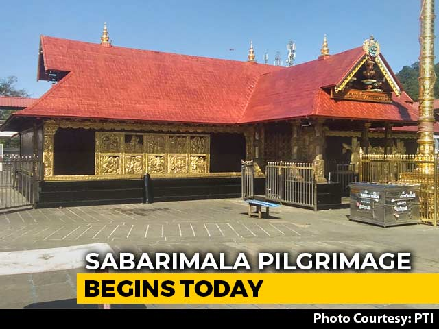 "Video : ""No Place For Activism,"" Says Kerala As Sabarimala Opens Today"