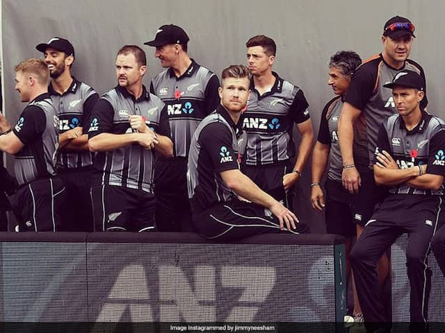 """""""Hey You Up There..."""": Jimmy Neesham Reacts To Another Heartbreaking Loss For New Zealand vs England"""
