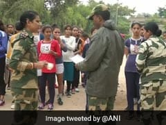 Jammu: Many Women Turn Up For BSF Recruitment Drive