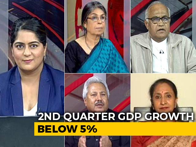 Video: Q2 GDP Growth Worst In Over 6 Years