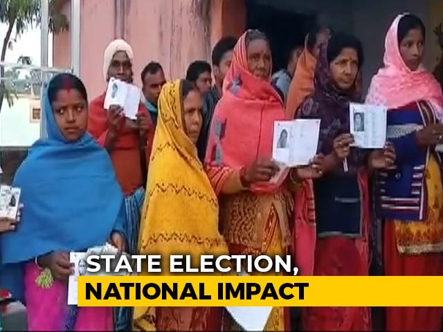 Video : 13 Constituencies Vote In Phase 1 Of Jharkhand Assembly Elections Today