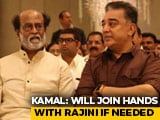 "Video : Rajinikanth, Kamal Haasan Talk Of ""Travelling Together"" In Politics"