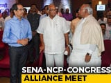 Video : Sena, NCP, Congress Meet After Fadnavis, Ajit Pawar Quit