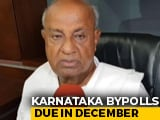 "Video : ""We'll Contest, But On Our Own"": Deve Gowda On Karnataka By-Elections"