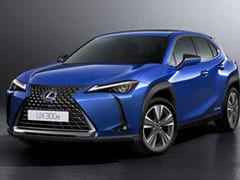 Lexus UX 300e Is The Company's First Electric Car