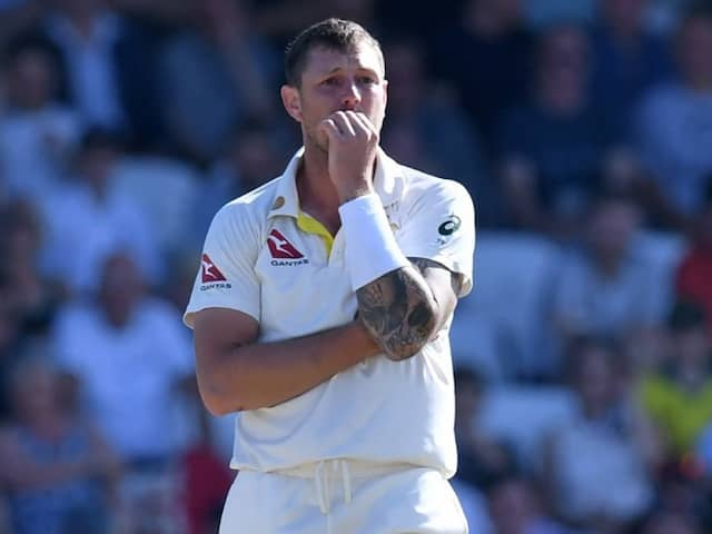 Thats why James Pattinson is banned by cricket Australia for one test match