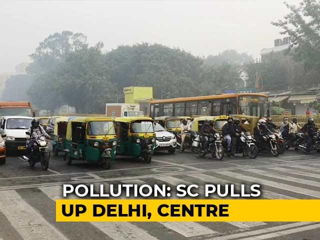 """Video : """"What Will Odd-Even Achieve?"""" Supreme Court Grills Delhi Over Pollution"""
