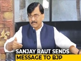 "Video : ""After Maharashtra, It's Goa"": Sena's Sanjay Raut Sends Message To BJP"