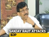 "Video : ""Don't Be Surprised If Sena's <i>Suryayaan</i> Lands In Delhi"": Sanjay Raut"