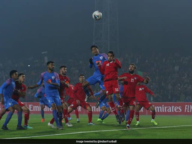 FIFA World Cup Qualifiers: Seiminlen Doungel Scores In Injury-Time As India Draw Against Afghanistan