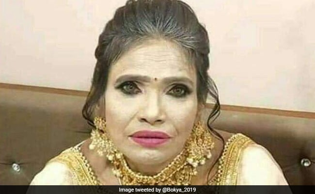 Ranu Mondal Is Viral Once Again - This Time For Her Makeup Photos