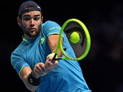 ATP Finals: Matteo Berrettini Makes History With Consolation Win In London