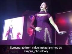 सपना चौधरी ने पर्पल कलर के सूट में किया ऐसा डांस, नजरें हटाना हुआ मुश्किल- देखें Video