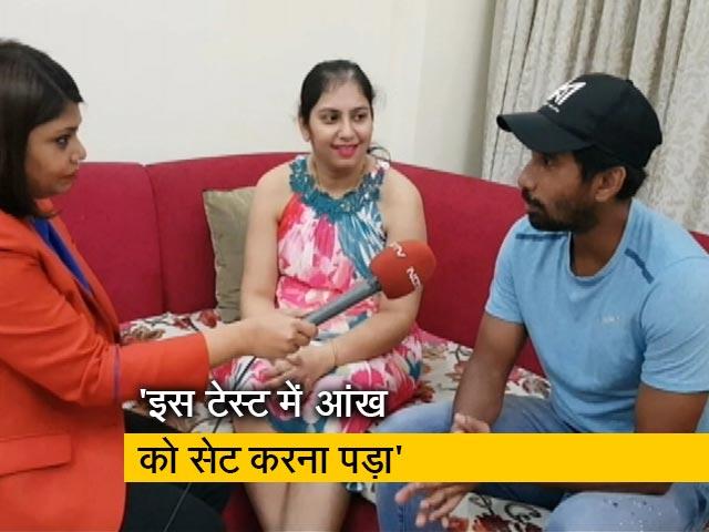 Videos : 'पिंक टेस्ट' में विजबिलटी की थोड़ी दिक्कत थी : ऋद्धिमान साहा