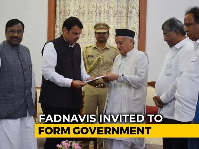 Video : BJP Invited By Maharashtra Governor To Form Government