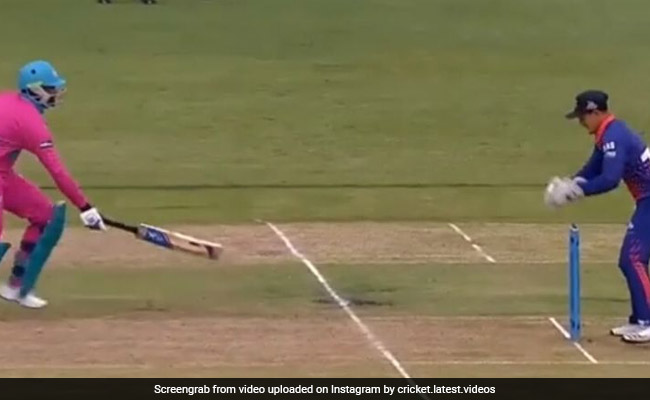 एमएस धोनी की तरह इस कीपर ने दिया बल्लेबाज को चकमा, ऐसे उखाड़ दिया विकेट, देखें Video