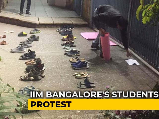 Video : IIM Bangalore's Unique Protest Against Citizenship Act