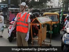 Bangalore Deploys Mannequins Dressed As Traffic Police To Deter Offenders