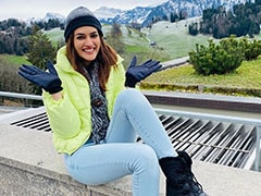 Through The Pages Of Kriti Sanon's Swiss Vacation