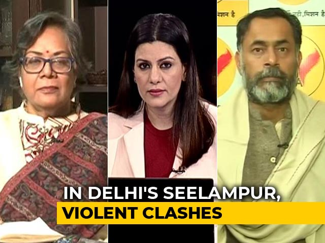 Video: Violent Clashes In Delhi's Seelampur Over Citizenship Act