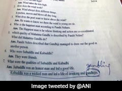 "Typo In Madhya Pradesh Class 10 Question Paper Shows ""Gambling"" As ""Gandhiji"""