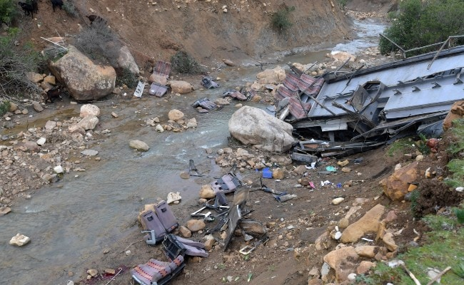 """""""Roads Of Death"""": At Least 24 Killed, 18 Injured After Bus Falls Off Cliff In Tunisia"""