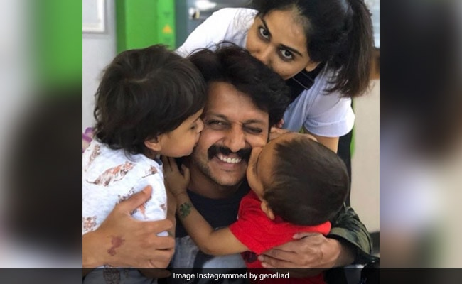On Riteish Deshmukh's Birthday, Wife Genelia D'Souza Says: 'I'm Always In The Mood For You'
