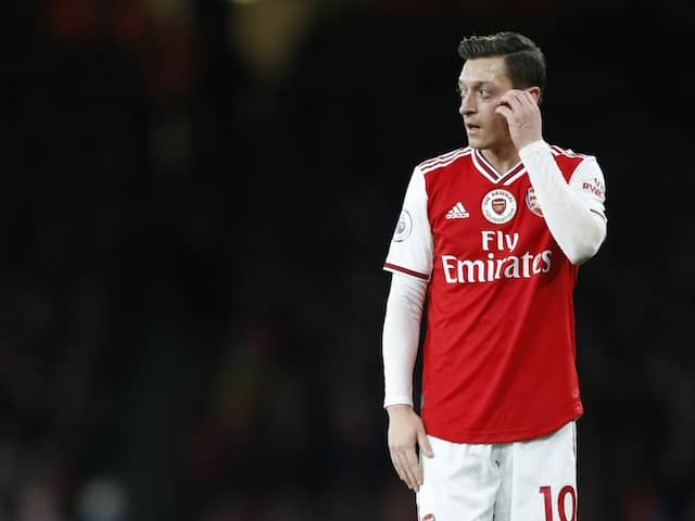 Mesut Ozil Cut From Video Game In China Over Xinjiang Comments