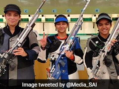 Mehuli Ghosh Wins 10m Air Rifle Gold, Indian Shooters Win Nine Medals In SAG