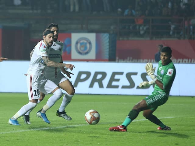 ISL: Panagiotis Triadis Late Goal Helps NorthEast United FC Secure Draw Against Jamshedpur FC