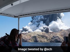 Shocking Footage Shows Volcanic Eruption Engulf New Zealand Island