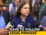 "Video : ""Dangerous"": Maneka Gandhi Cautions After Telangana Accused Are Shot Dead"