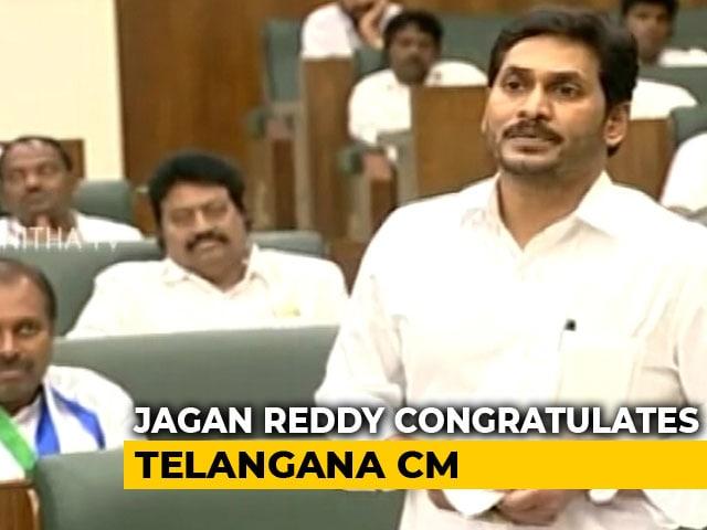 "Video : ""Hats Off"": Jagan Reddy Praises KCR On Telangana Accused Killing"