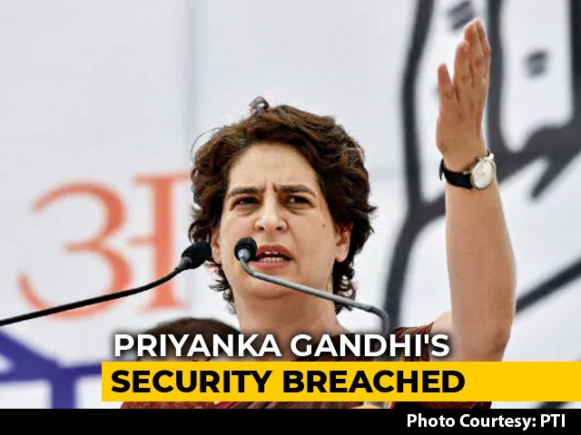 Video : Security Breach At Priyanka Gandhi Home, Family Drove In, Asked For Photo