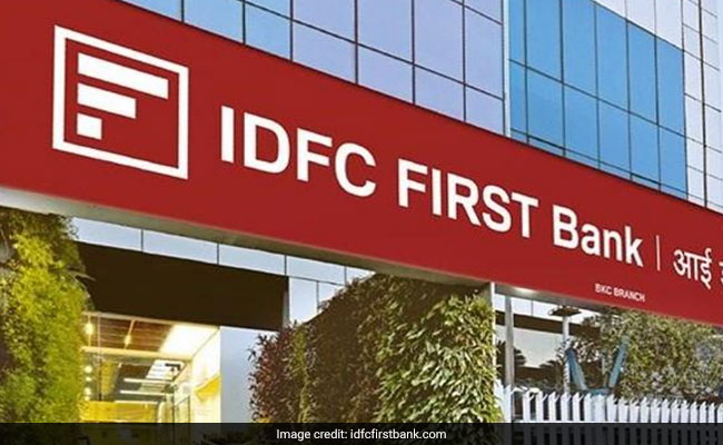 IDFC First Bank Gains After Board Approves Rs 3,000 Crore Fund Raising Plan