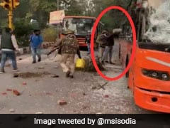 """Cops Were Dousing The Fire"": Officer On Viral Video Of Delhi Clashes"