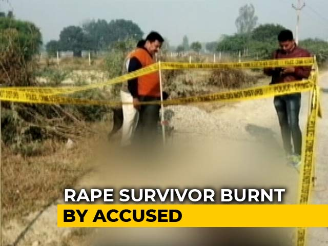 Video : Rape Survivor, Set On Fire On Way To Court In UP's Unnao, Walked 1 Km For Help
